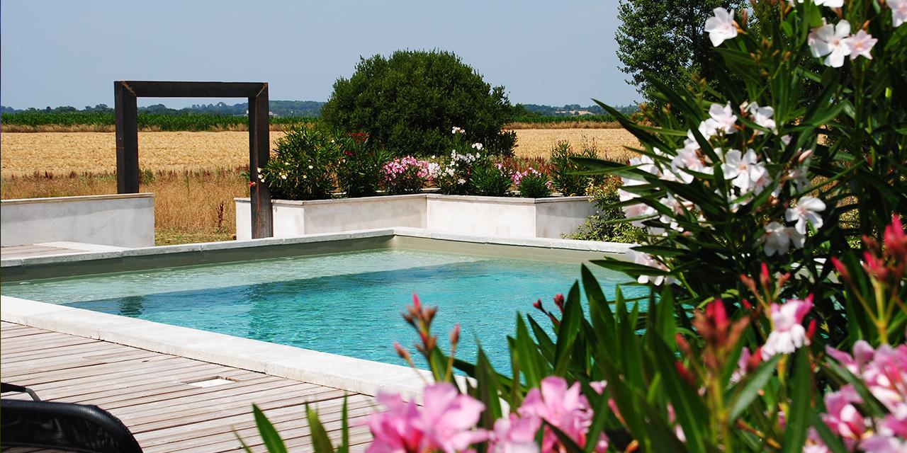 zwembad Villa Lafage