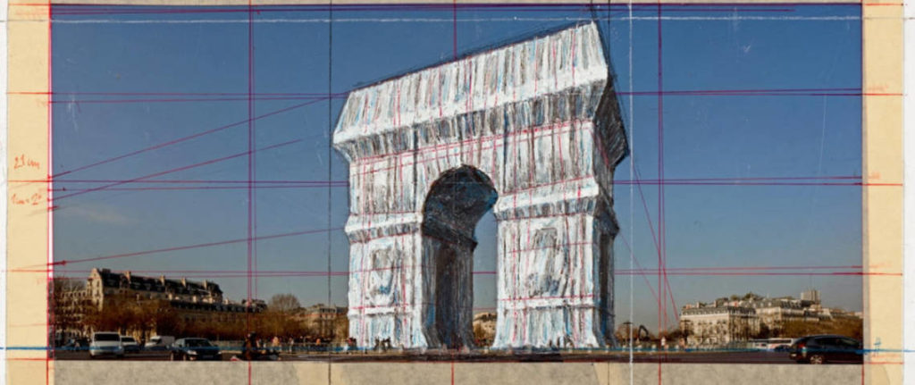 arc de triomphe Christo