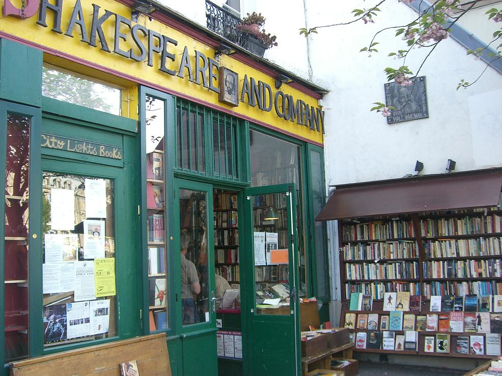 bekende boekwinkel in Parijs