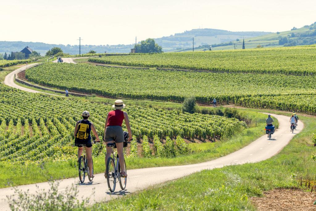 Bourgogne camping fietsen