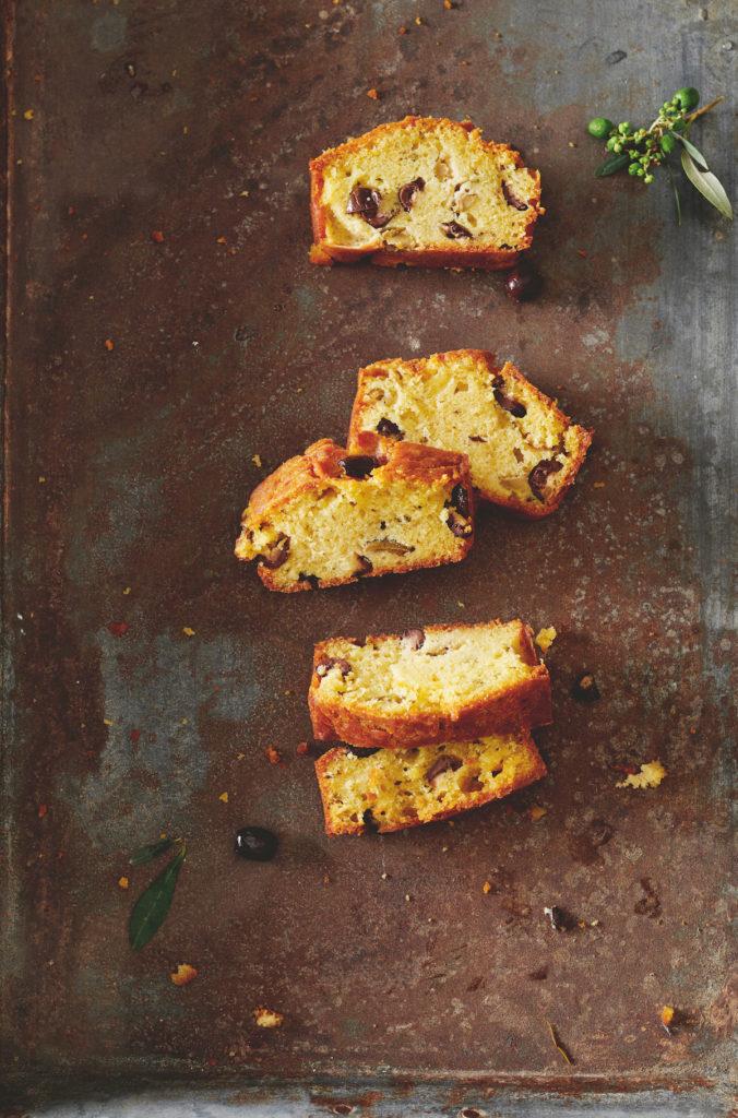 Frans recept olijvencake