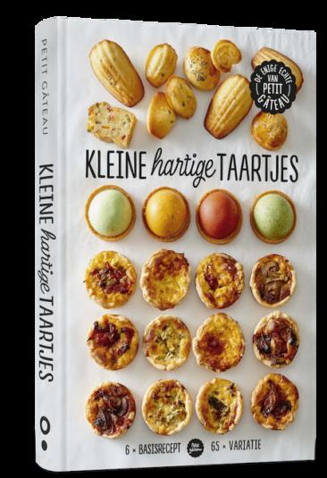 kookboek kleine hartige taart