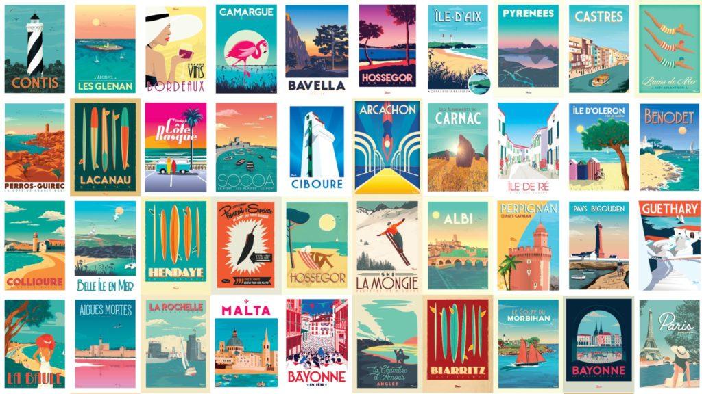 nostalgische affiches Frankrijk
