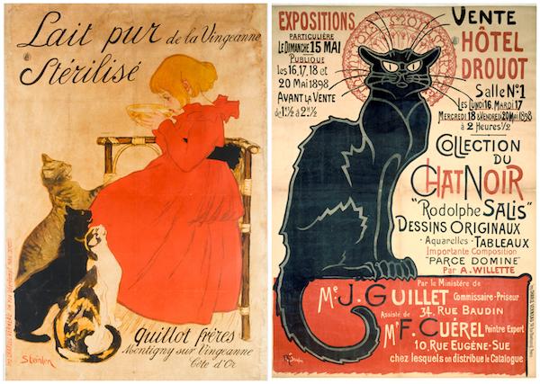 affiches Steinlen Museum Carnavalet