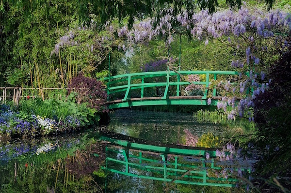 tuinen van Monet Giverny Normandië