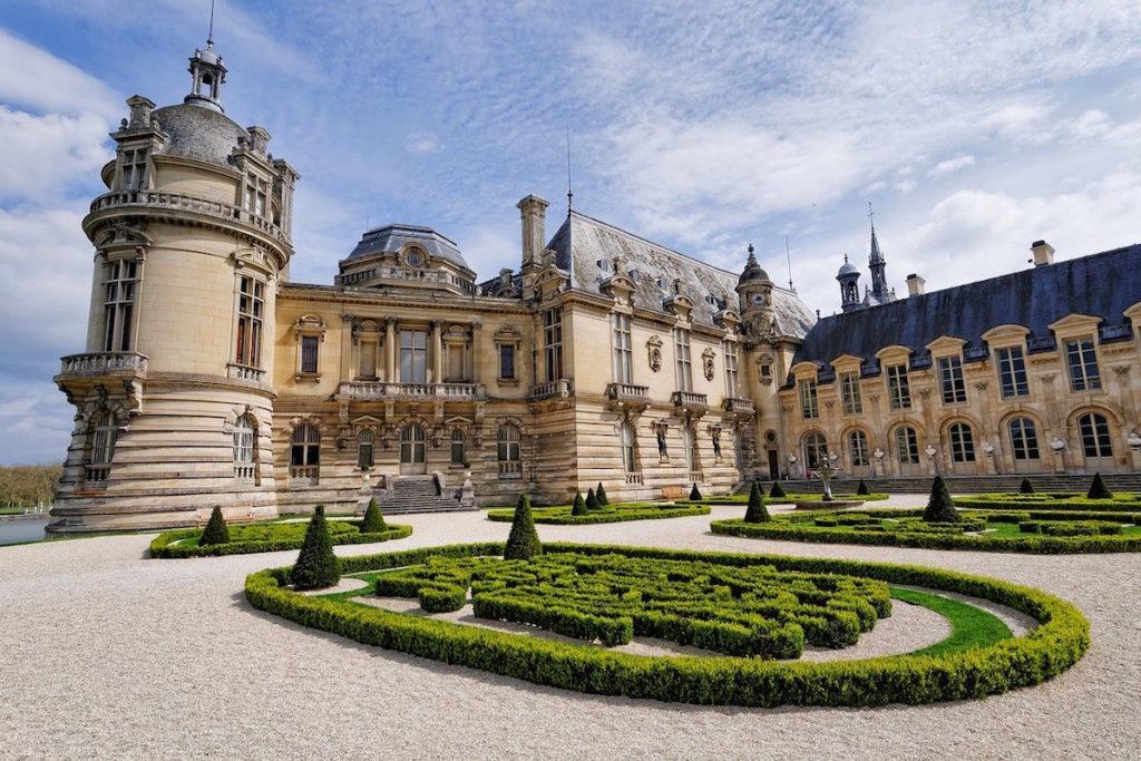 Chantilly binnenplaats