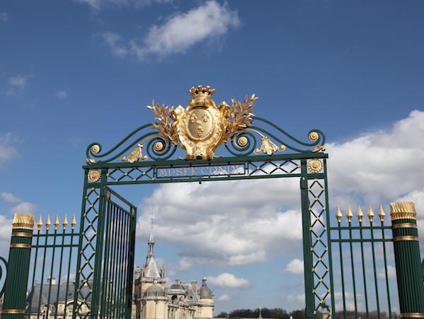 Chantilly kasteel bij Parijs