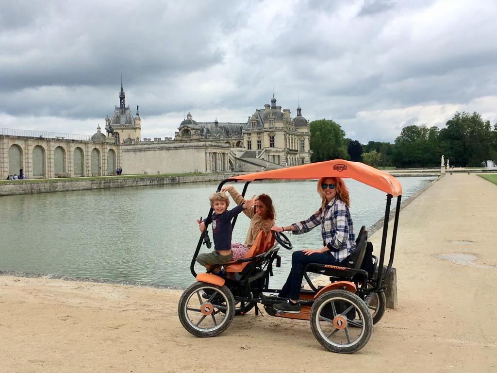 kasteel Chantilly fietsen