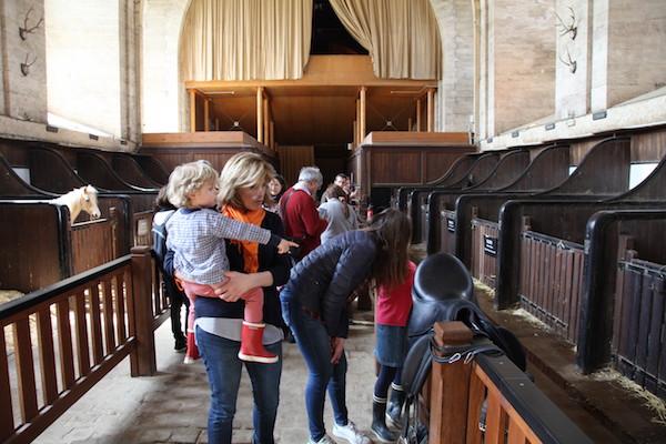 Chantilly paardenstallen