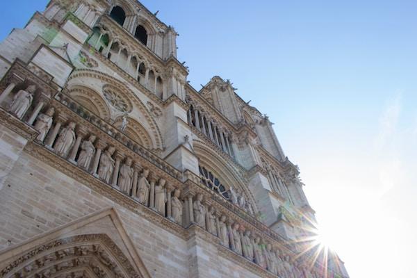 façade Notre-Dame koningen