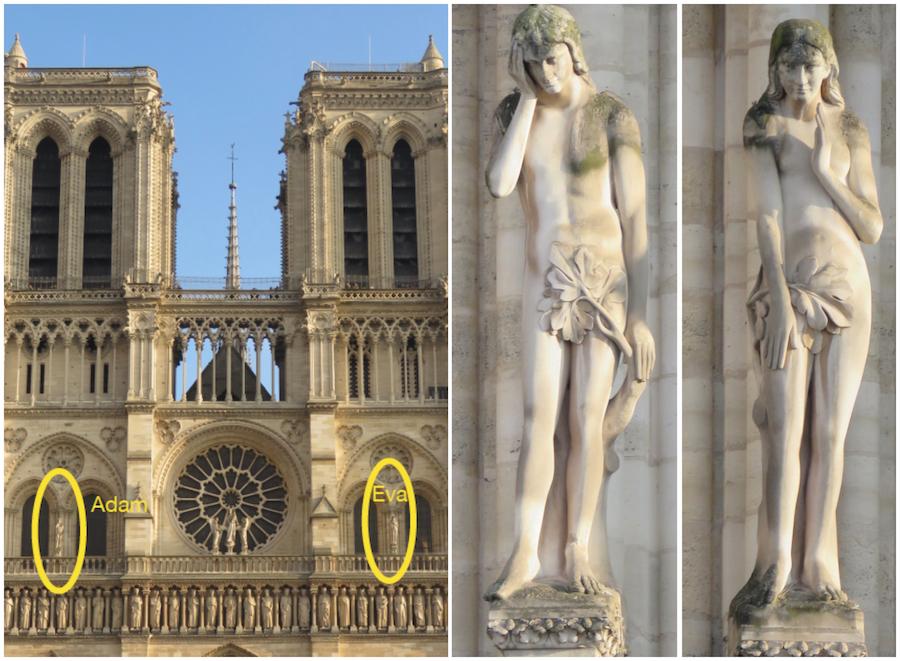 Notre-Dame Adam en Eva