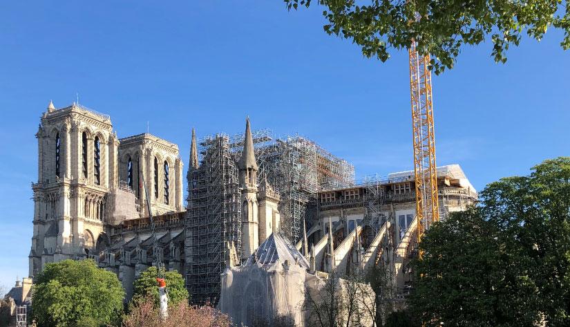 Notre-Dame april 2020