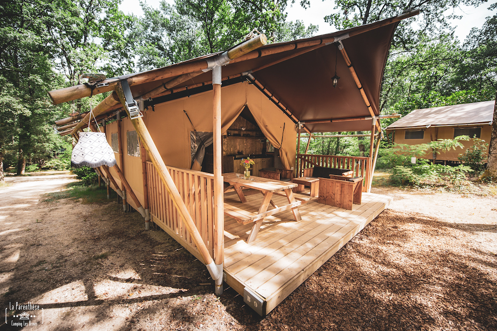 glamping Parenthese les Ormes