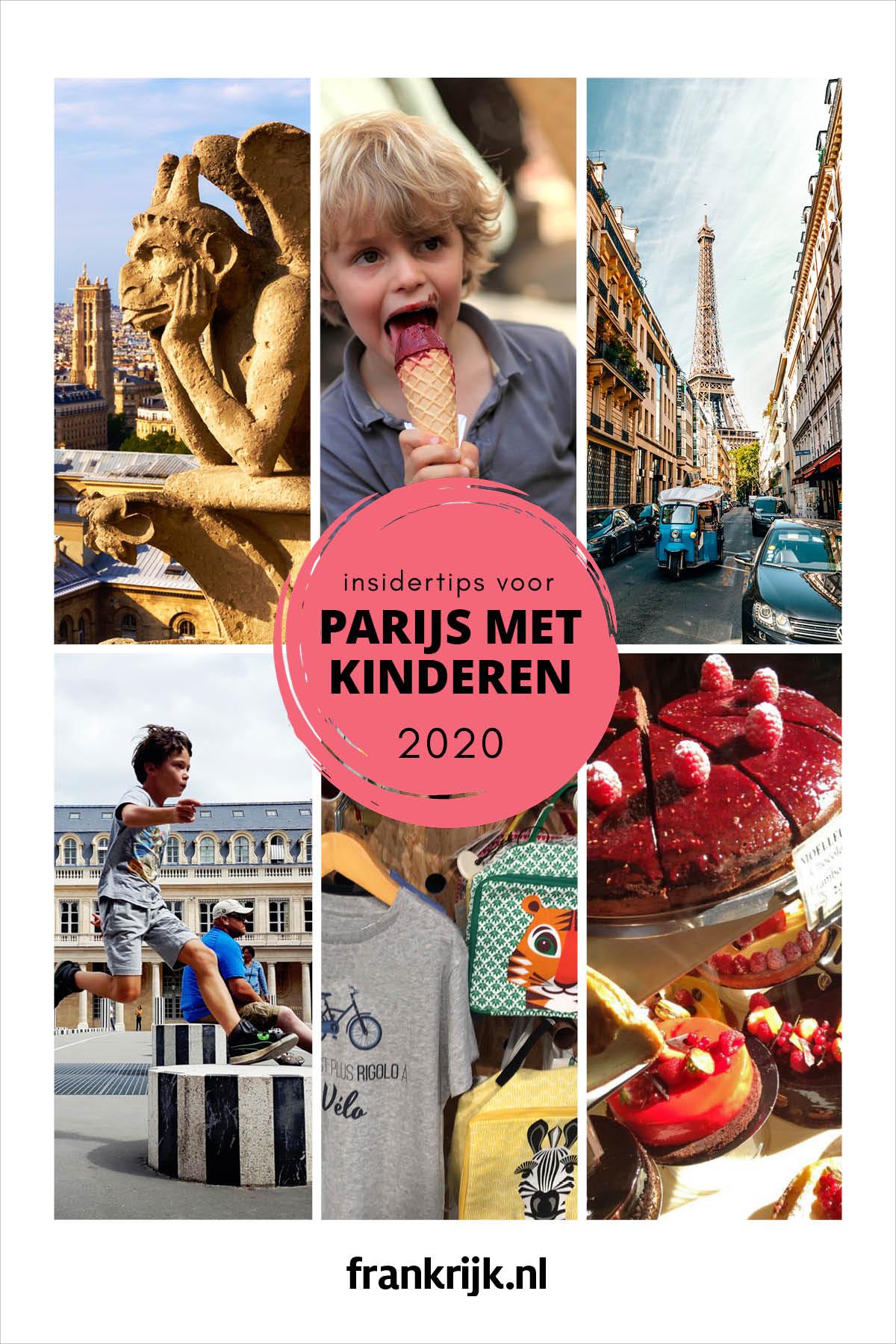 reisgids Parijs met kinderen