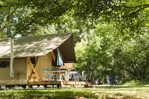 Trappeur tent Huttopia