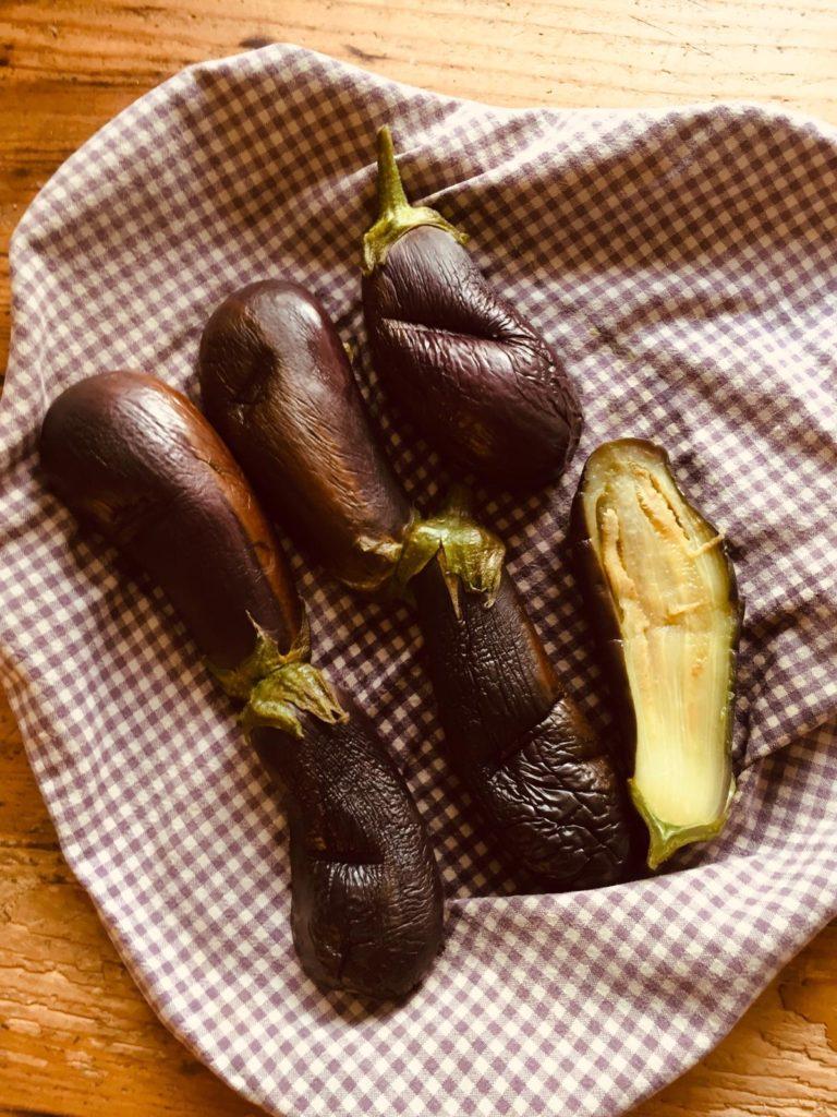 aubergines oven vegetarisch recept