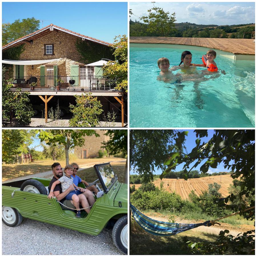 vakantiedomeinen Cammazet in de Ariège