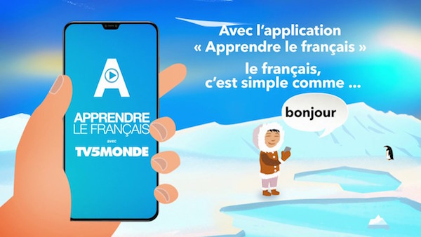 TV5 app Franse taal
