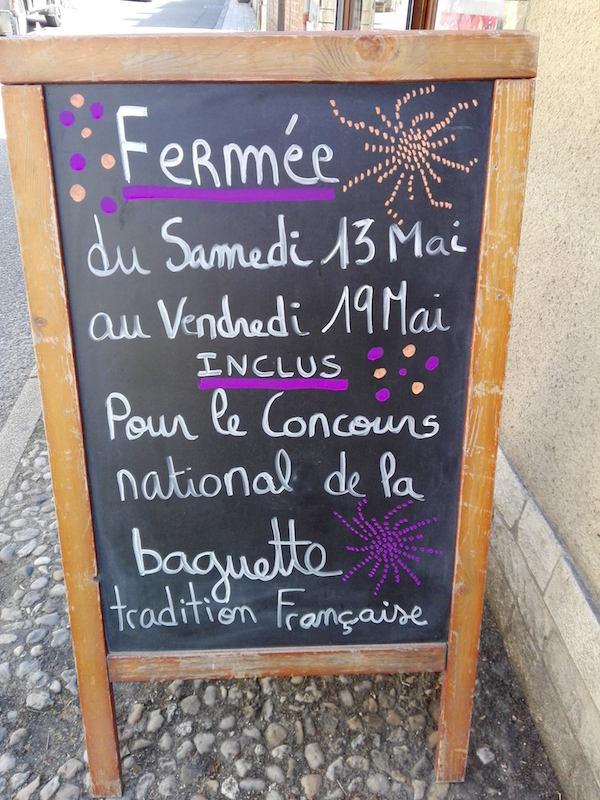 Franse bakker stokbrood