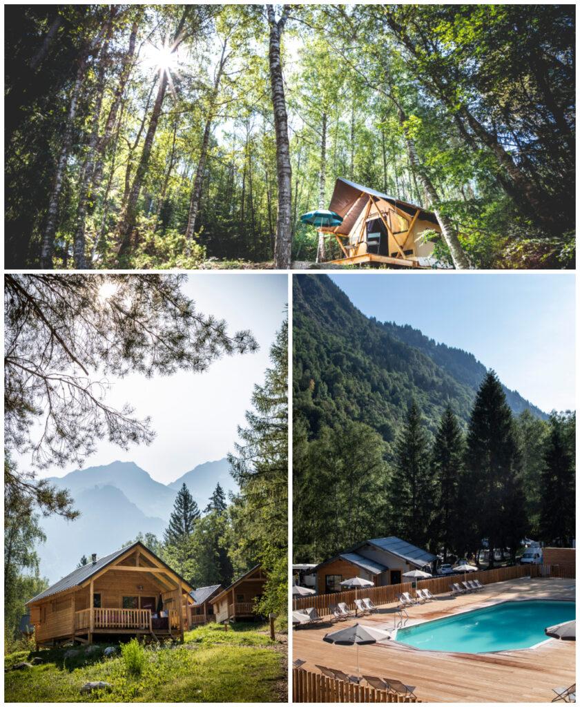 Bozel-en-vanoise-natuurcamping-franse-alpen-bergen Huttopia