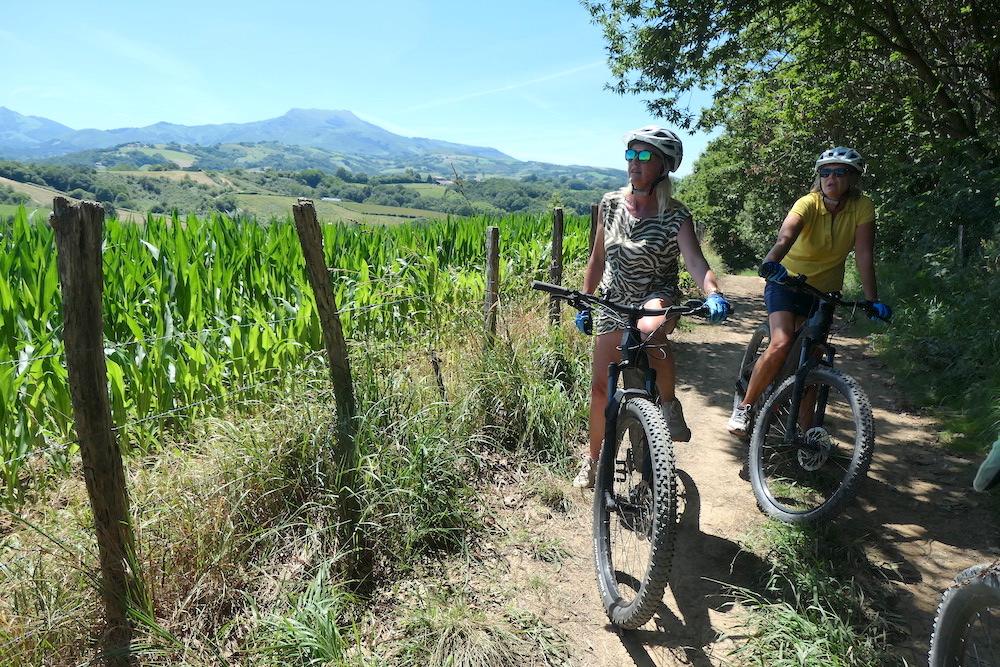 Mountainbiken in Frans Baskenland