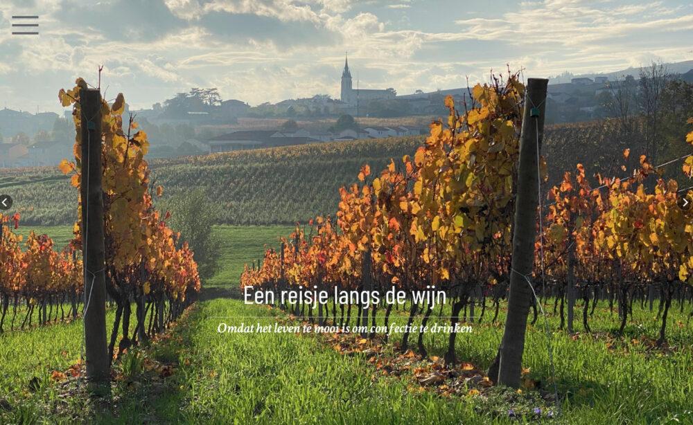 Reisje langs de wijn