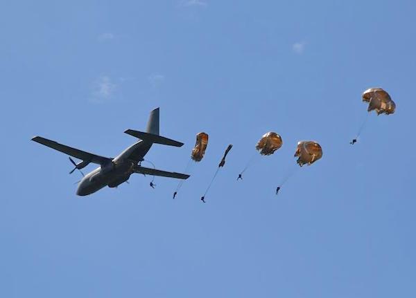 Nomandië mooie chambres d'hôtes D-Daystranden parachutisten dropping