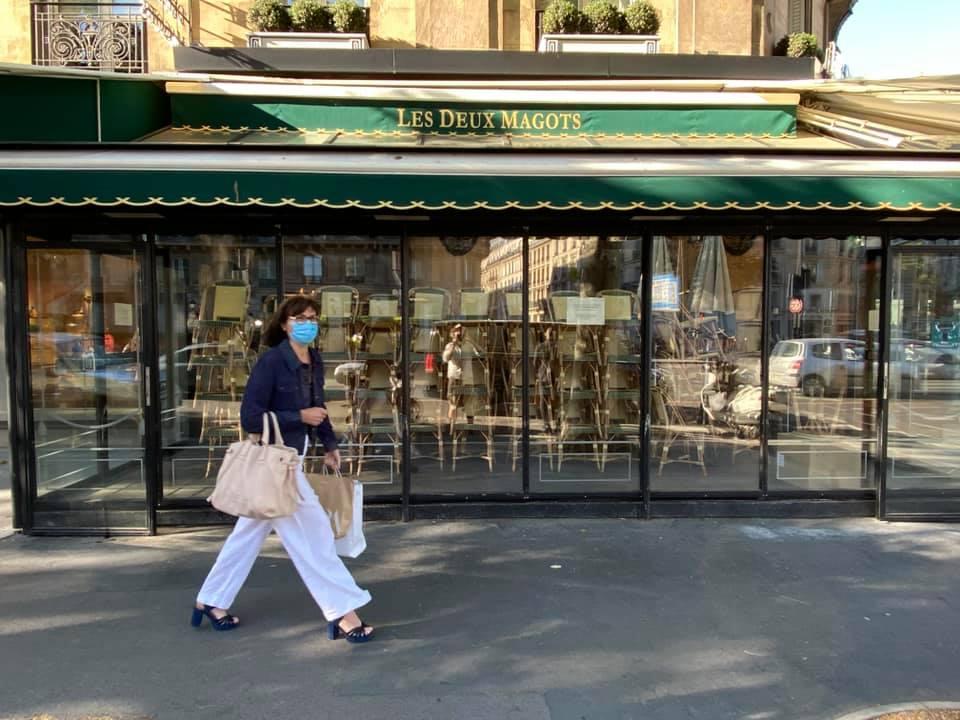 Parijs vlak na de versoepeling