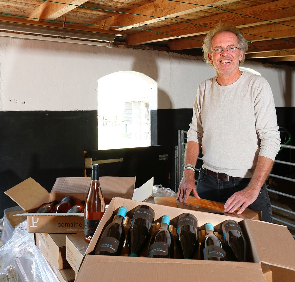 Thijs Heslenfeld wijn importeren uit Frankrijk