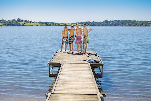 Aveyron Lac du Pareloup