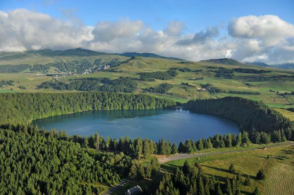 Auvergne vulkaanmeren Pavin