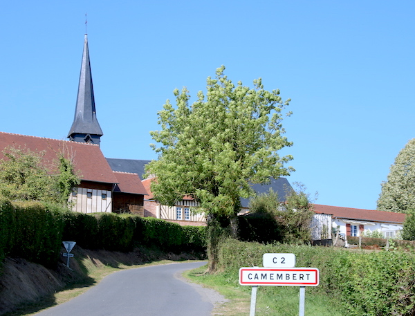 camembert dorpje naambord