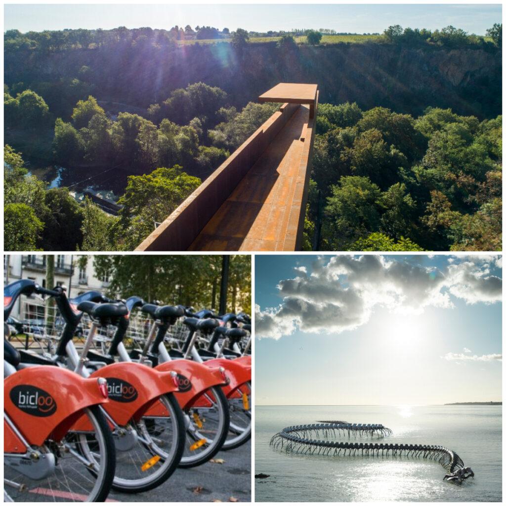 fietsen Nantes Kunst