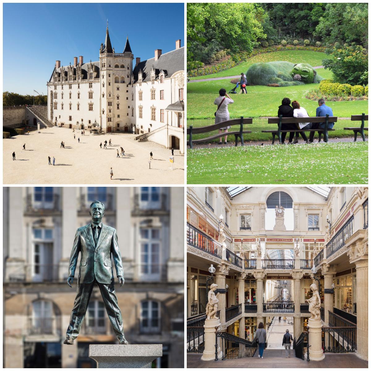 Sprankelende binnenstad Nantes 2021