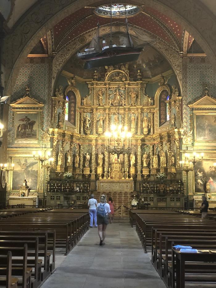 Eglise Jean Baptiste St Jean de Luz