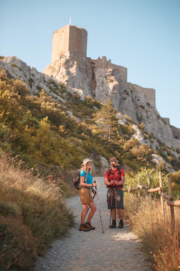 Sentiet Cathare wandelen in de Aude Languedoc