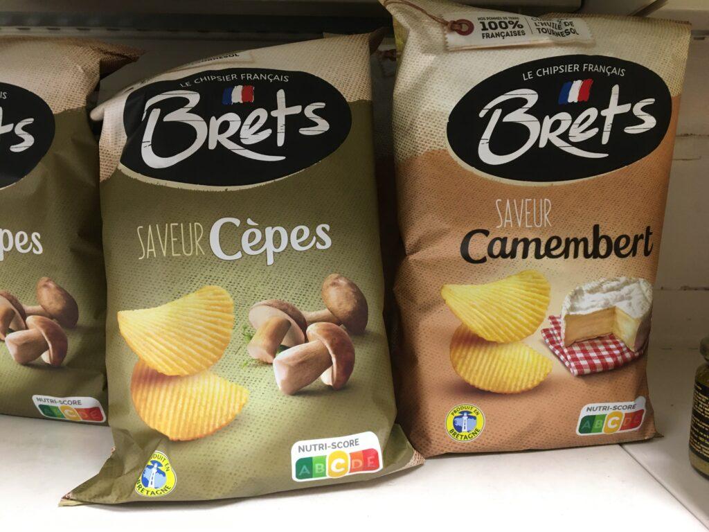 gekke Franse chipssmaken