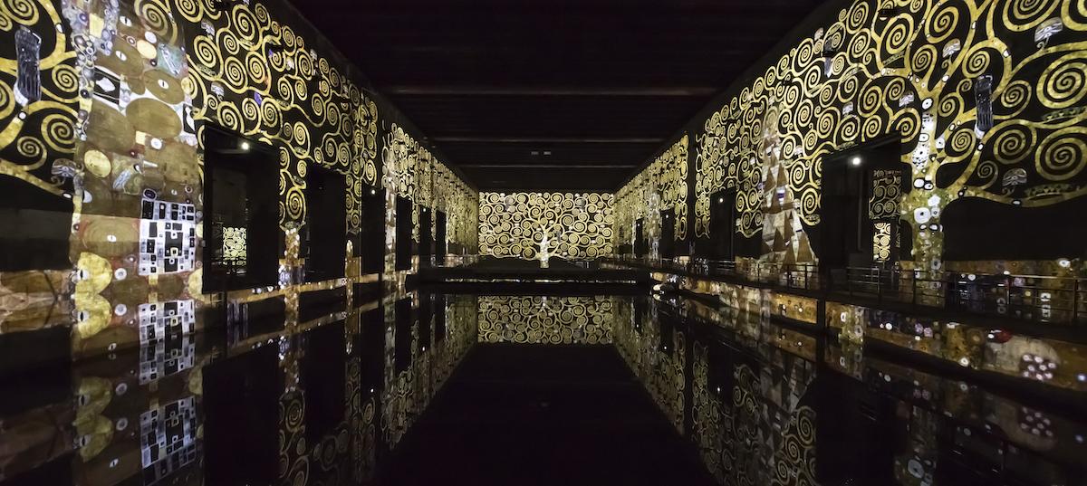 Bassins de Lumières Bordeaux Klimt Culturespaces