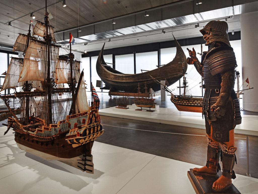 Musée Mer Marine VOC-schepen