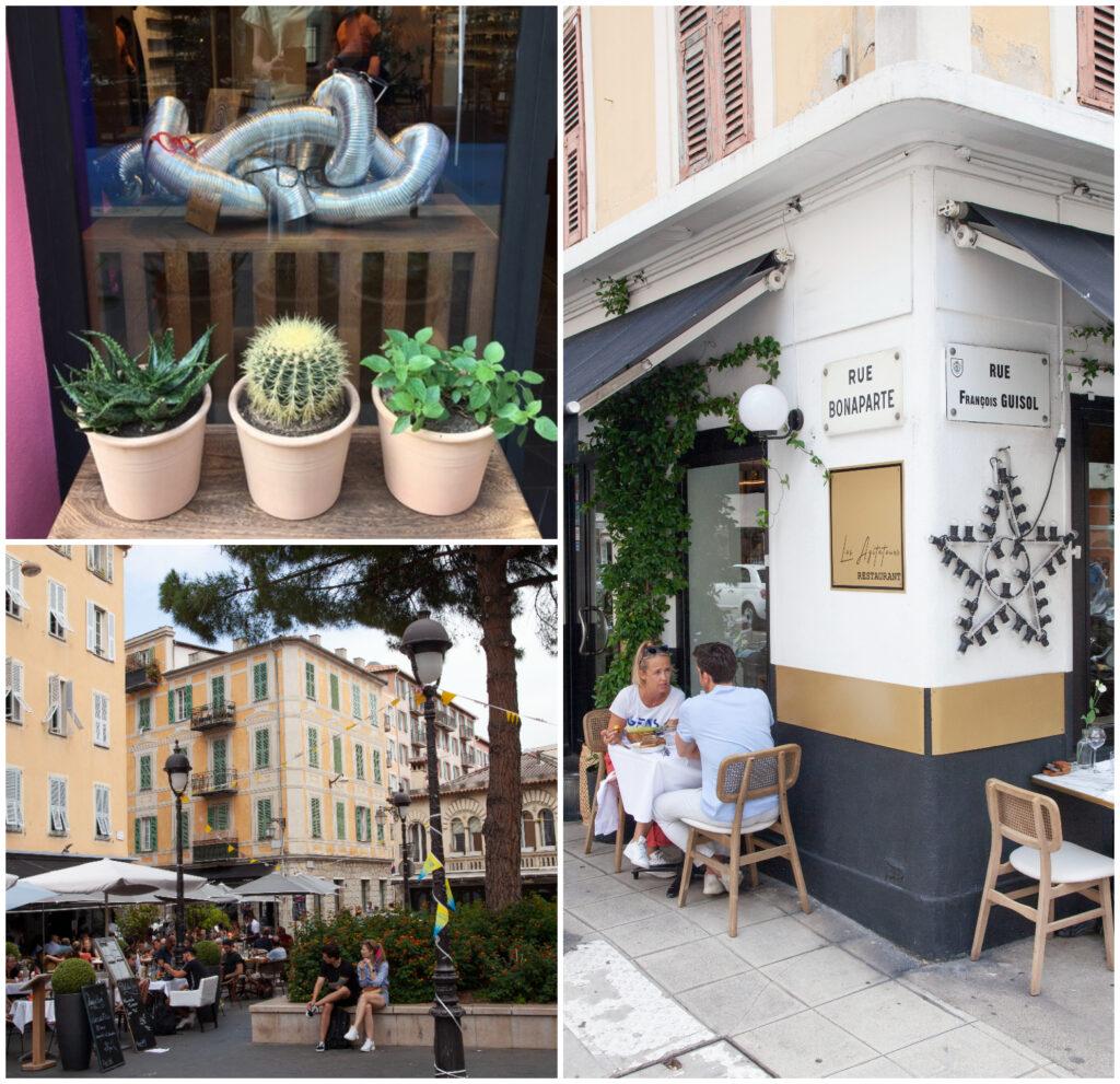 Quartier Bonaparte in Nice