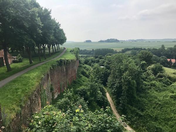 Montreuil-sur-Mer in Noor-Frankrijk