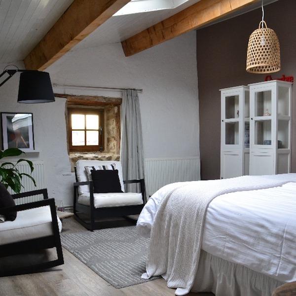 slaapkamer B&B Py de Dome Auvergne