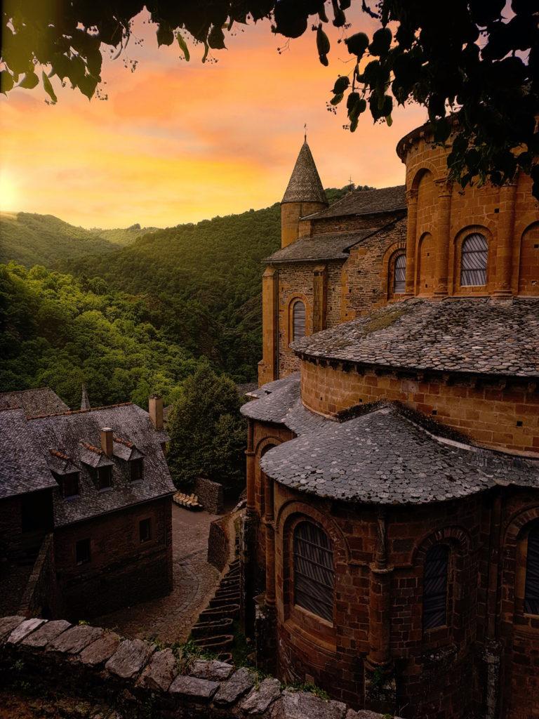 mooiste plekken Aveyron Conques