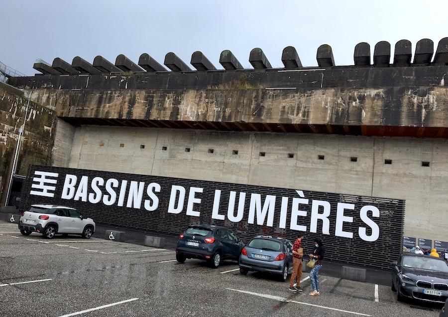Bassins de Lumieres in Bordeaux
