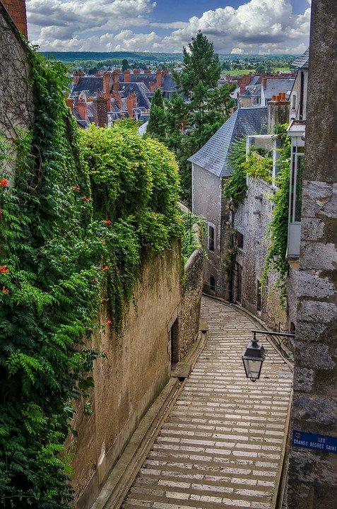 Blois historische binnenstad