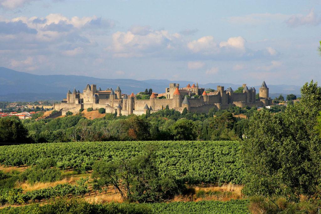 Carcsasonne in de Aude
