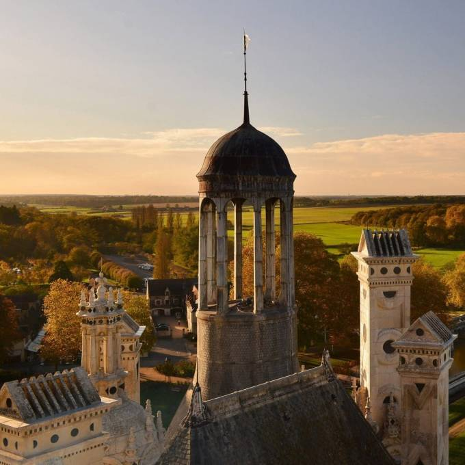 Chambord Loirekasteel herfst