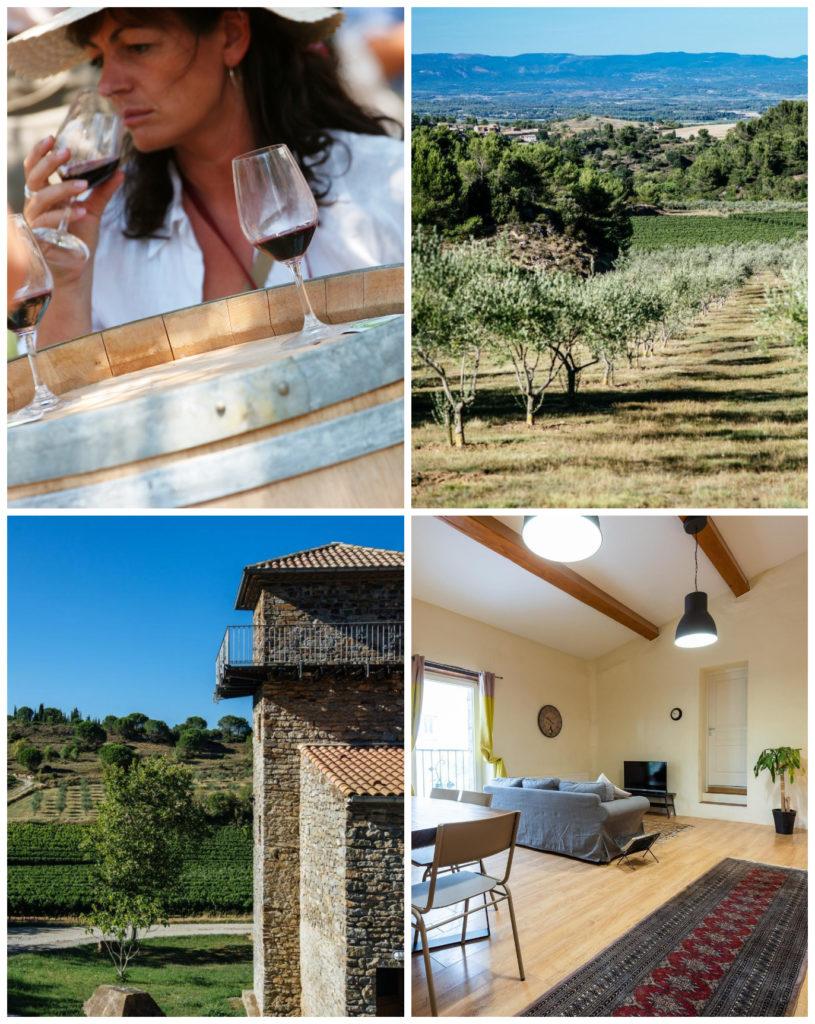 slapen bij de Franse wijnboer in de Aude