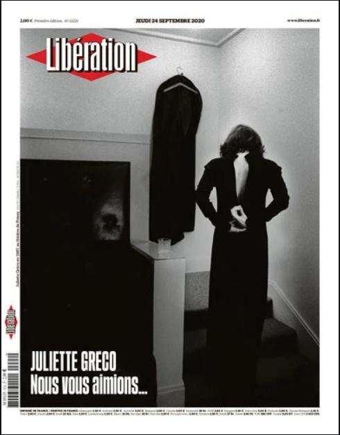voorpagina Franse kranten dood Greco