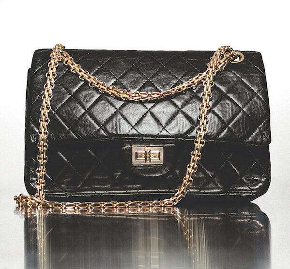 Expositie Chanel 2020 Parijs tas 2.55